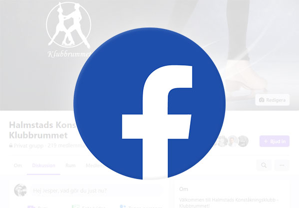 Facebook Halmstad Konståkningsklubb klubbrummet