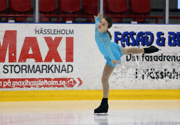 Linn Edvinsson Konståkning Halmstad Konståkningsklubb