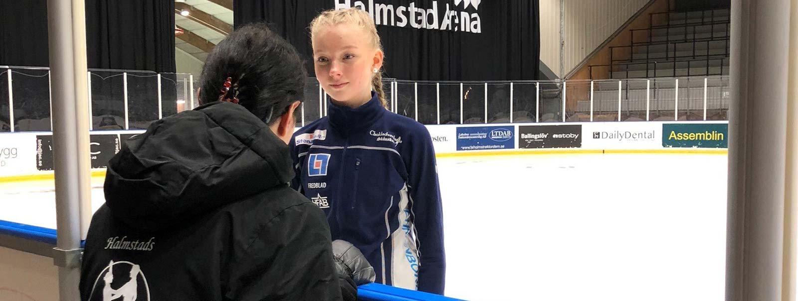 Tränare åkare Halmstads Konståkningsklubb